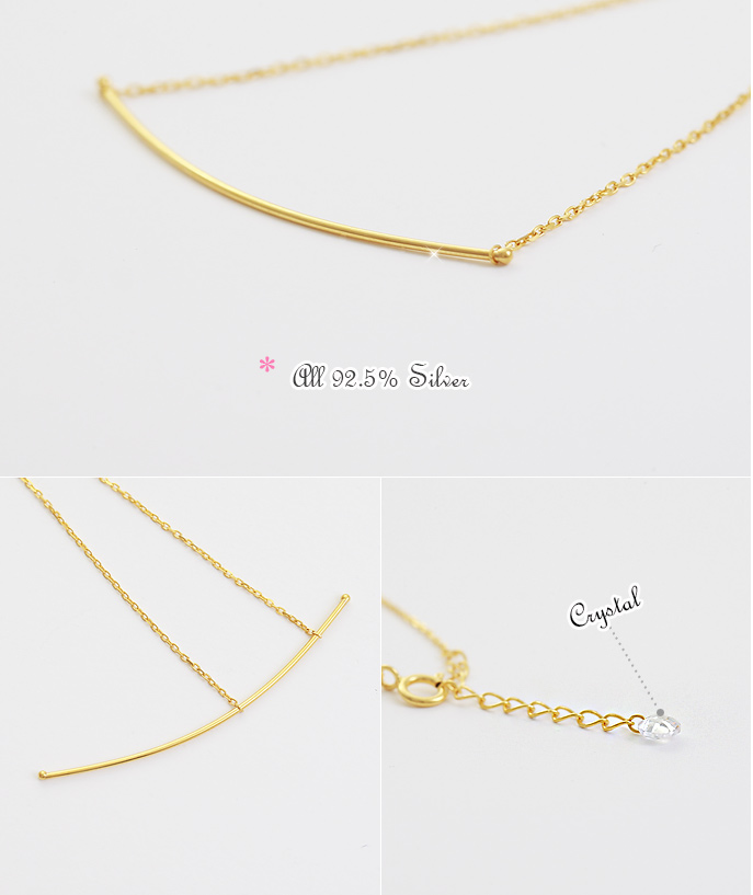 [ 4xtyle ] By Slim Silver Bracelet, 3 Colors