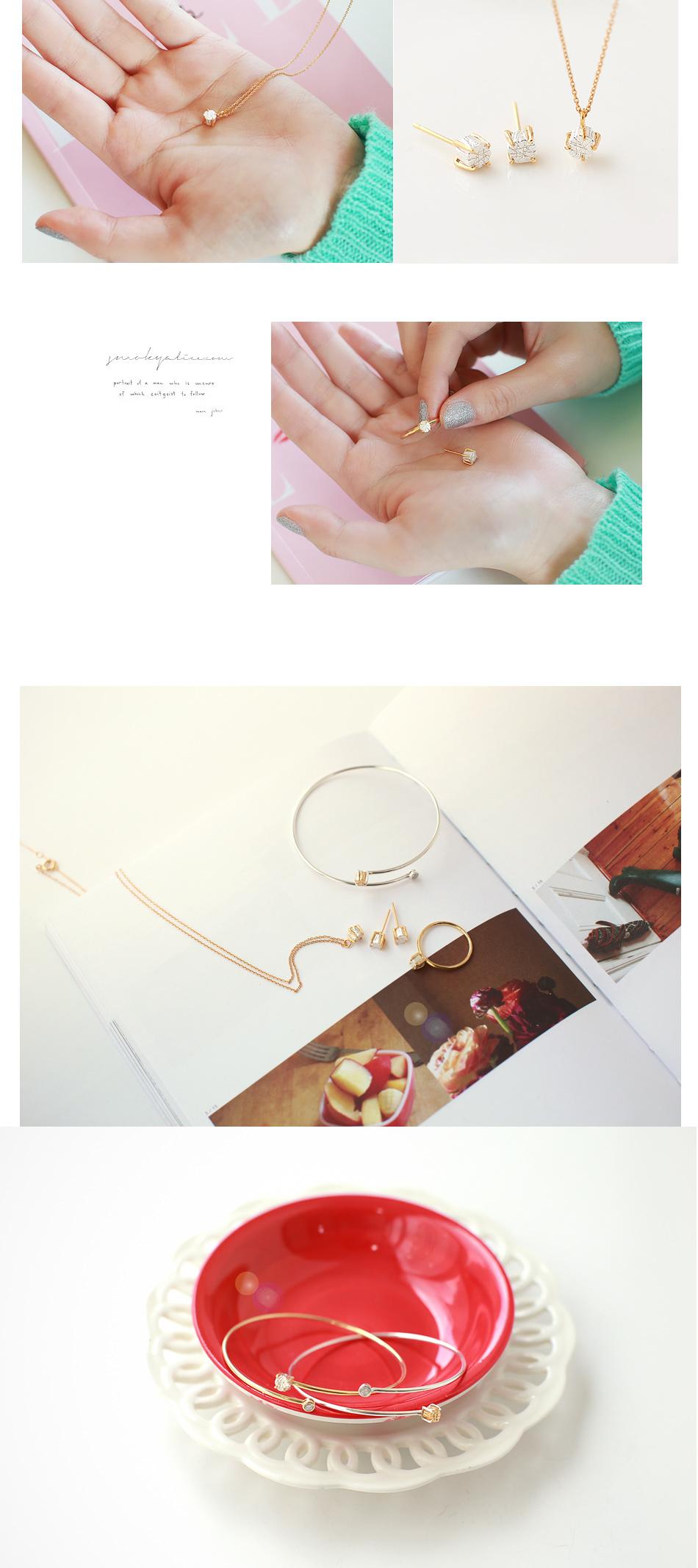 [ 4xtyle ] Vonin银手镯2色