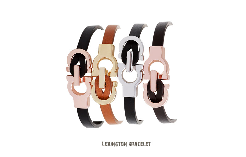[ 4xtyle ] LEXINGTON LEATHER BRACELET