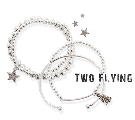 [ 4xtyle ] (2EA 1SET) TWO FLYING BRACELET