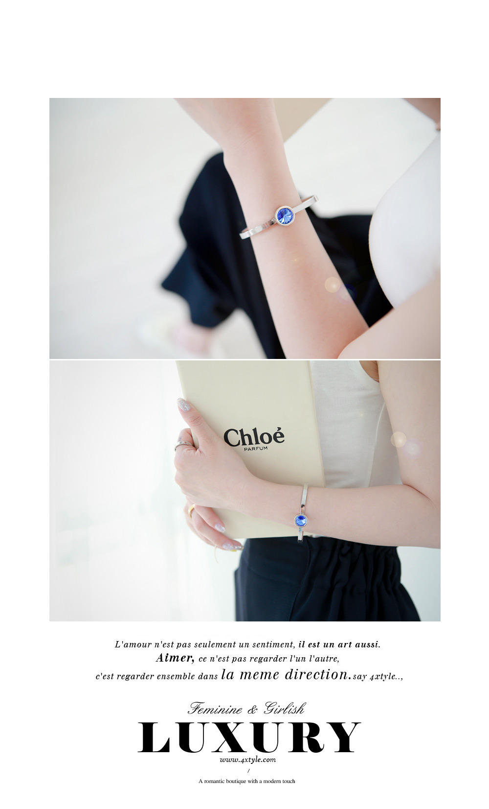 [ 4xtyle ] LUX BANGLE BRACELET