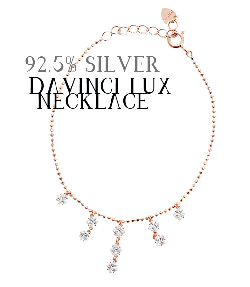 [ 4xtyle ] Dvinch Lux Necklace, 2 Colors