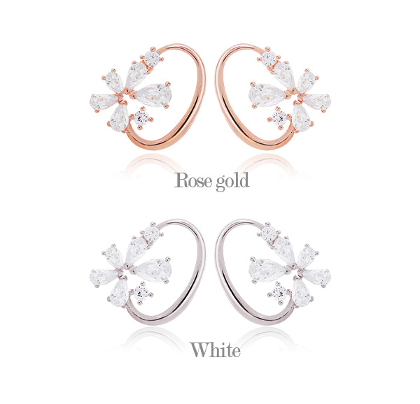 [ 4xtyle ] Lysianshus Earring, 2 Colors