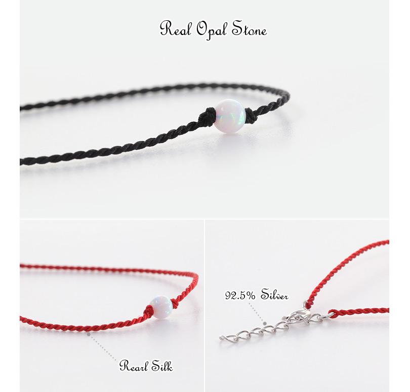 [ 4xtyle ] Opal Pure Silver Bracelet, 2 Colors