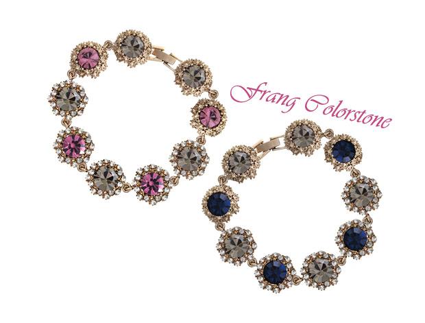 [ 4xtyle ] FRAN 的彩色石头手链
