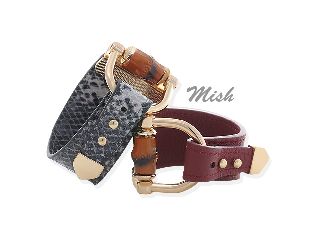 [ 4xtyle ] MICHE LEATHER BRACELET