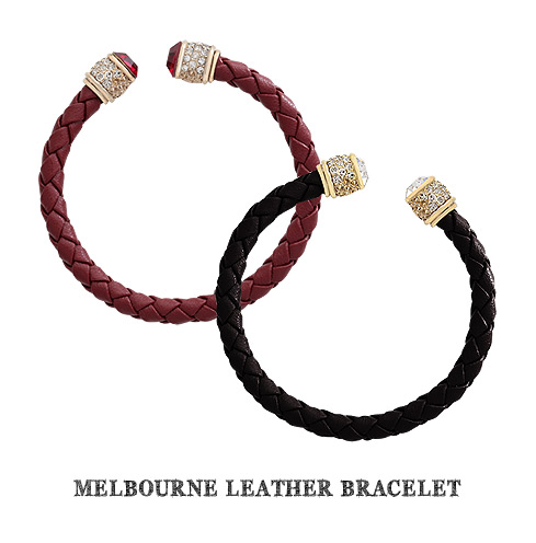 [ 4xtyle ] MELBOURNE LEATHER BRACELET