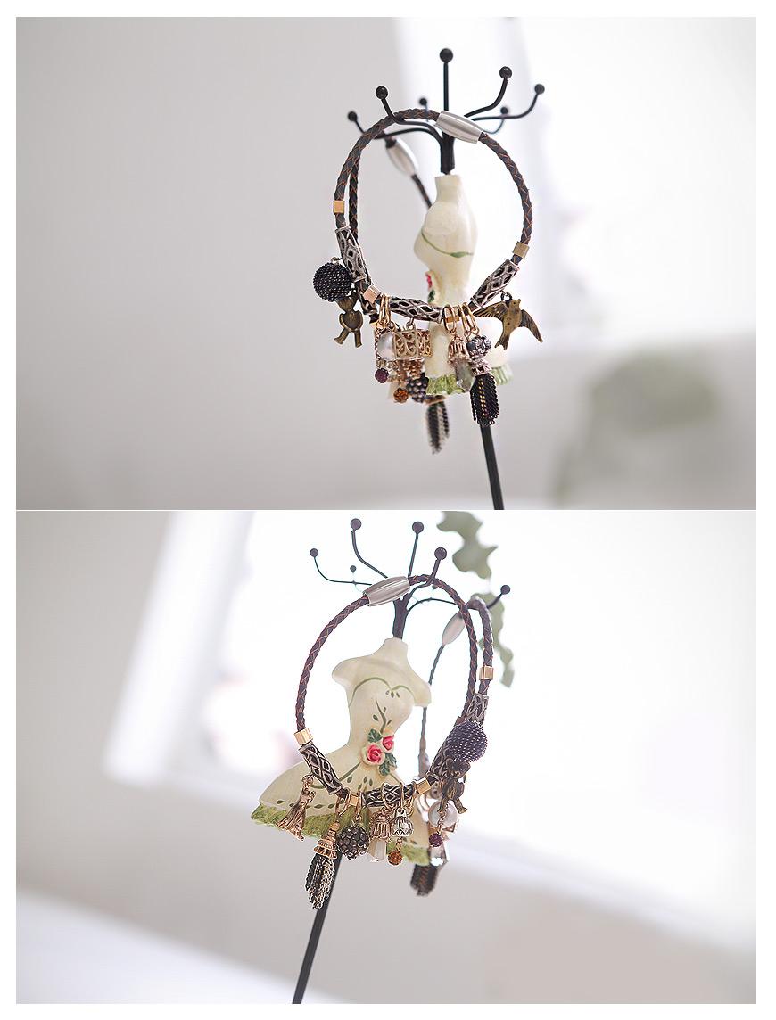 [ 4xtyle ] [手工制作]假日的皮革手镯
