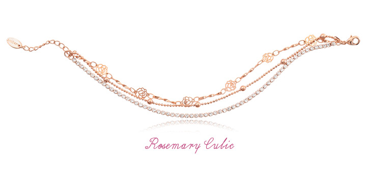 [ 4xtyle ] ROSEMARY CUBIC BRACELET