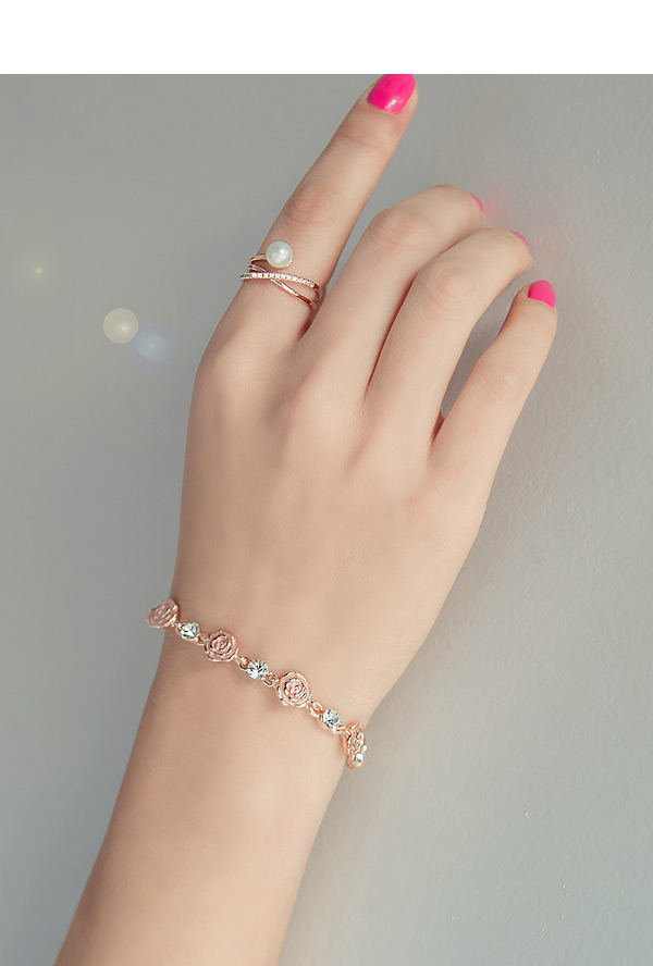 [ 4xtyle ] SWEET ROSE BRACELET