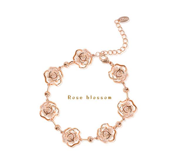[ 4xtyle ] 玫瑰花手镯