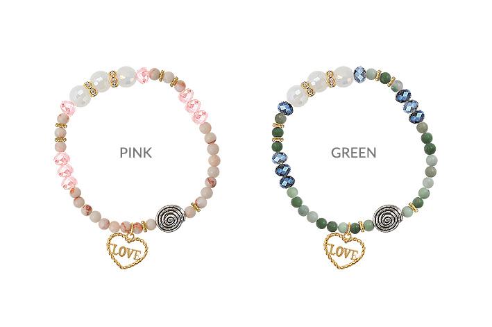 [ 4xtyle ] Love Dharma Bracelet