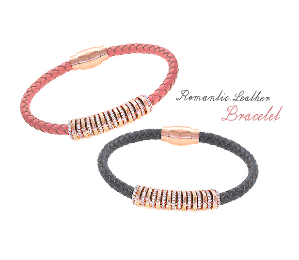 [ 4xtyle ] [4xtyle] Romantic Leather Bracelet