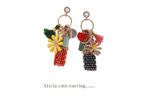 [ 4xtyle ] Allicia Cute Earring, 2 Colors