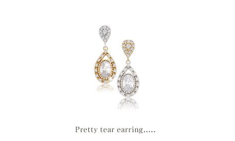 [ 4xtyle ] Pretty Tear Earring, 2 Colors
