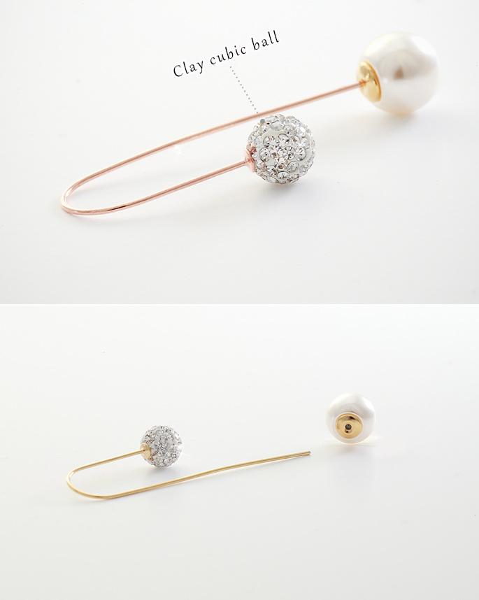 [ 4xtyle ] Roel Long Earring, 3 Colors
