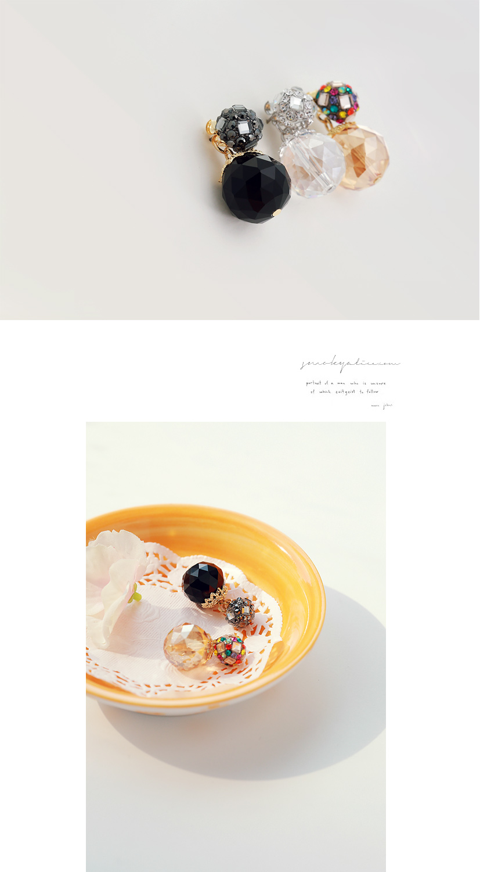 [ 4xtyle ] Floria Twoway Earring, 3 Colors