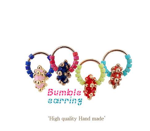 [ 4xtyle ] Bumble Earring, 4 Colors