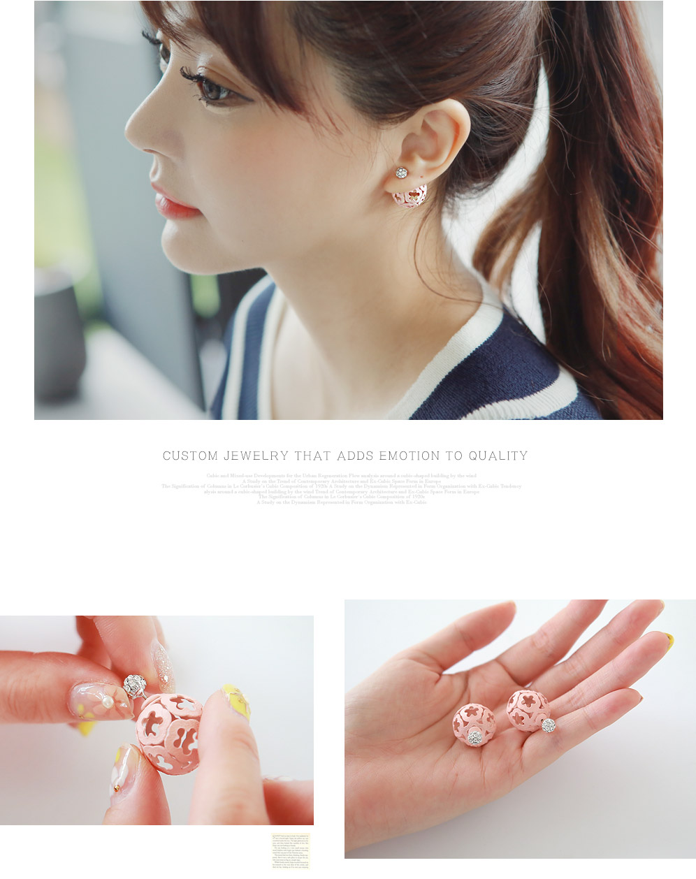 [ 4xtyle ] Claudel Tribale Earring, 5 Colors