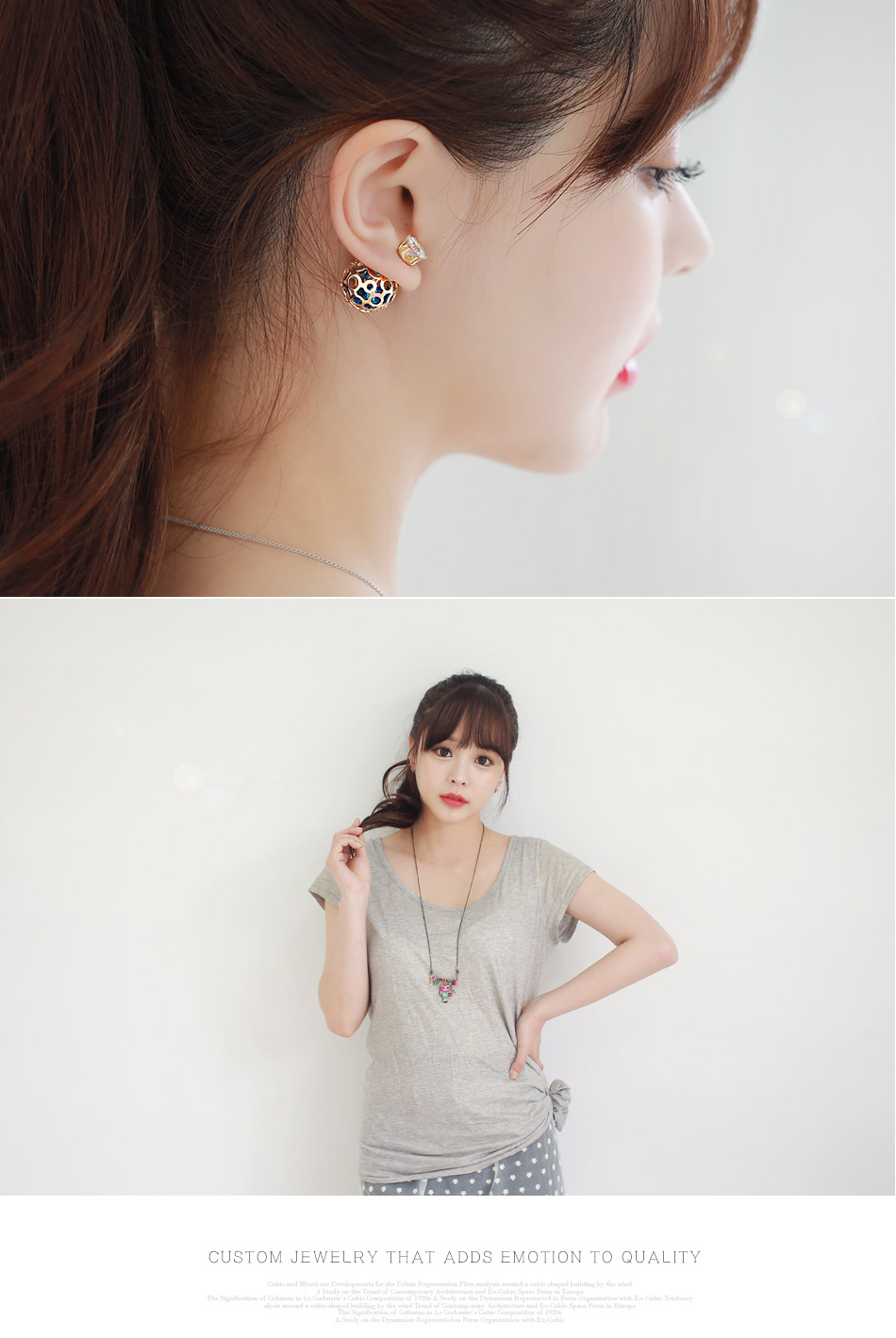 [ 4xtyle ] Figaro Tribale Earring, 4 Colors