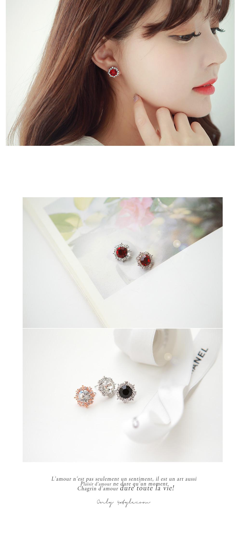 [ 4xtyle ] 立方装饰的手链,5色