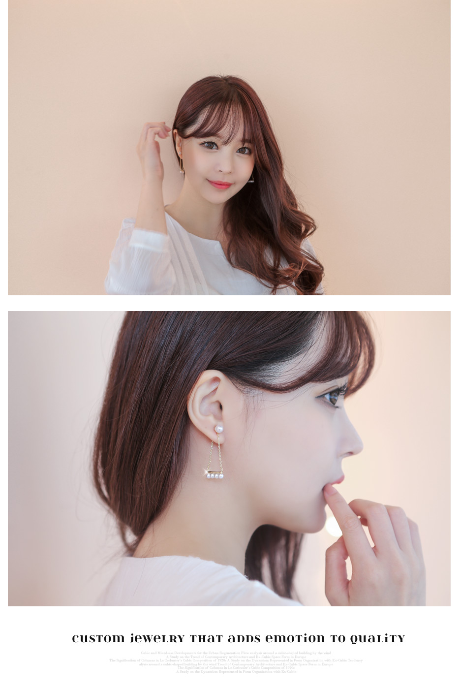 [ 4xtyle ] Lady In Pearl Earrring, 3 Colors