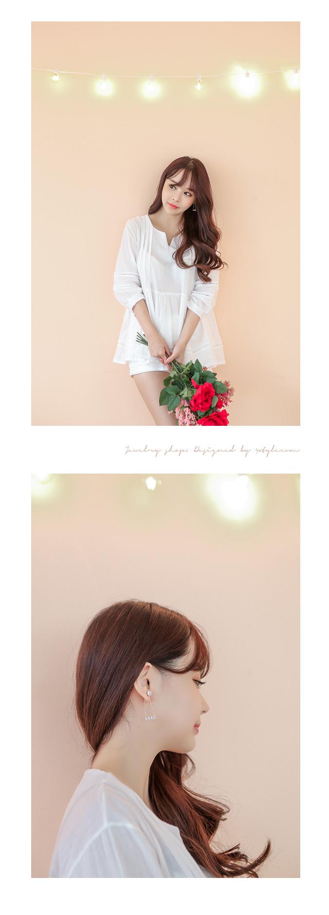 [클립] 레이디인펄 귀걸이 - 폭스타일, 9,500원, 골드, 볼/미니귀걸이