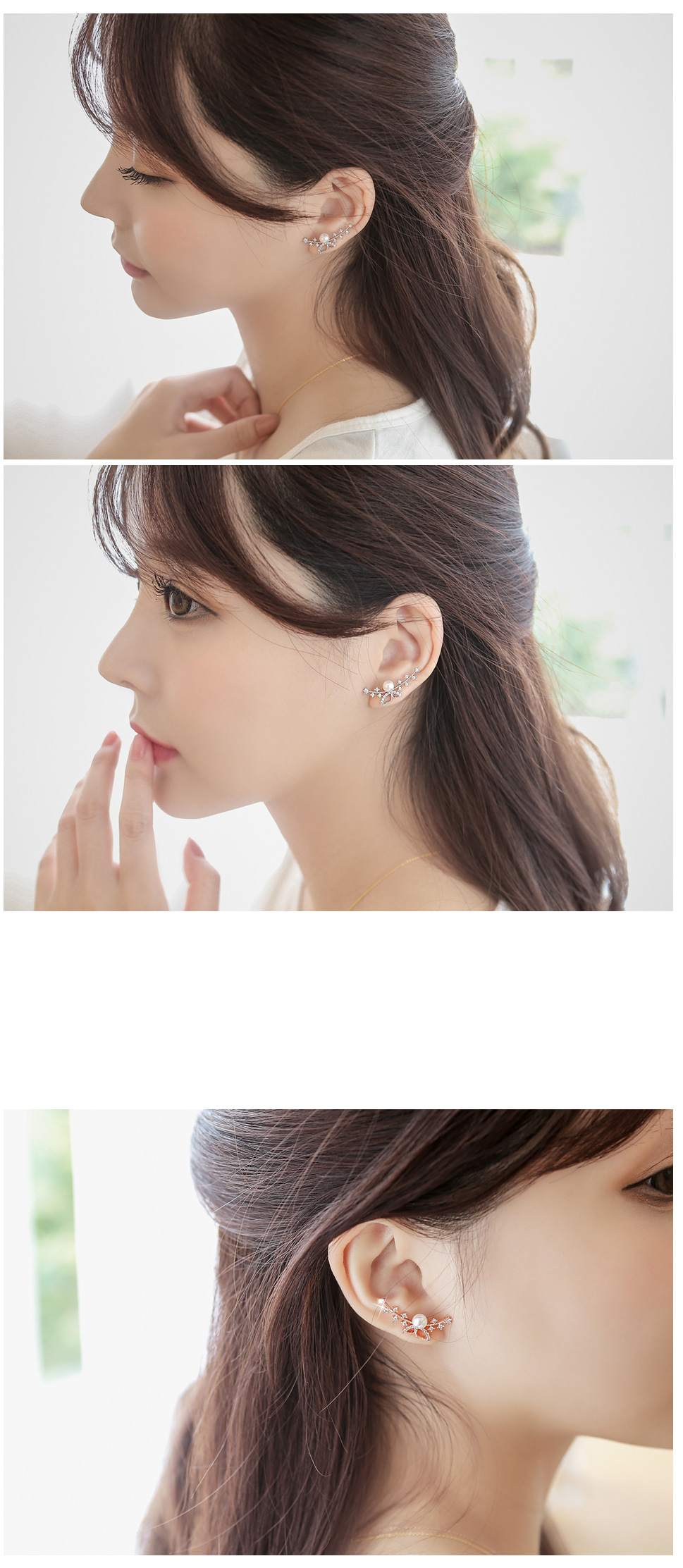 [ 4xtyle ] Boros Butterfly Earring, 3 Colors