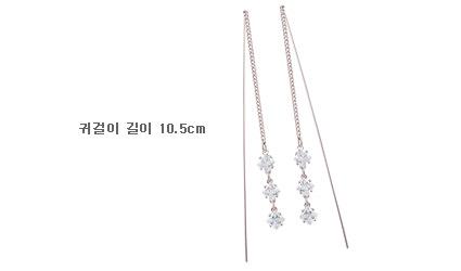[ 4xtyle ] 达芬奇Lux立方银耳环、2种颜色