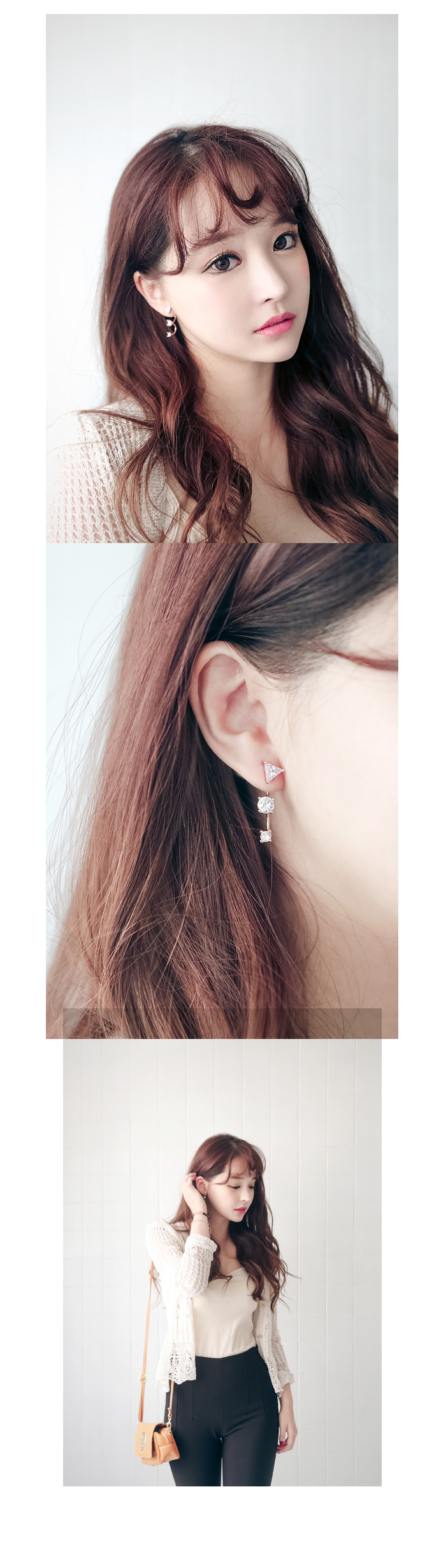 [ 4xtyle ] Record Earring, 2 Colors