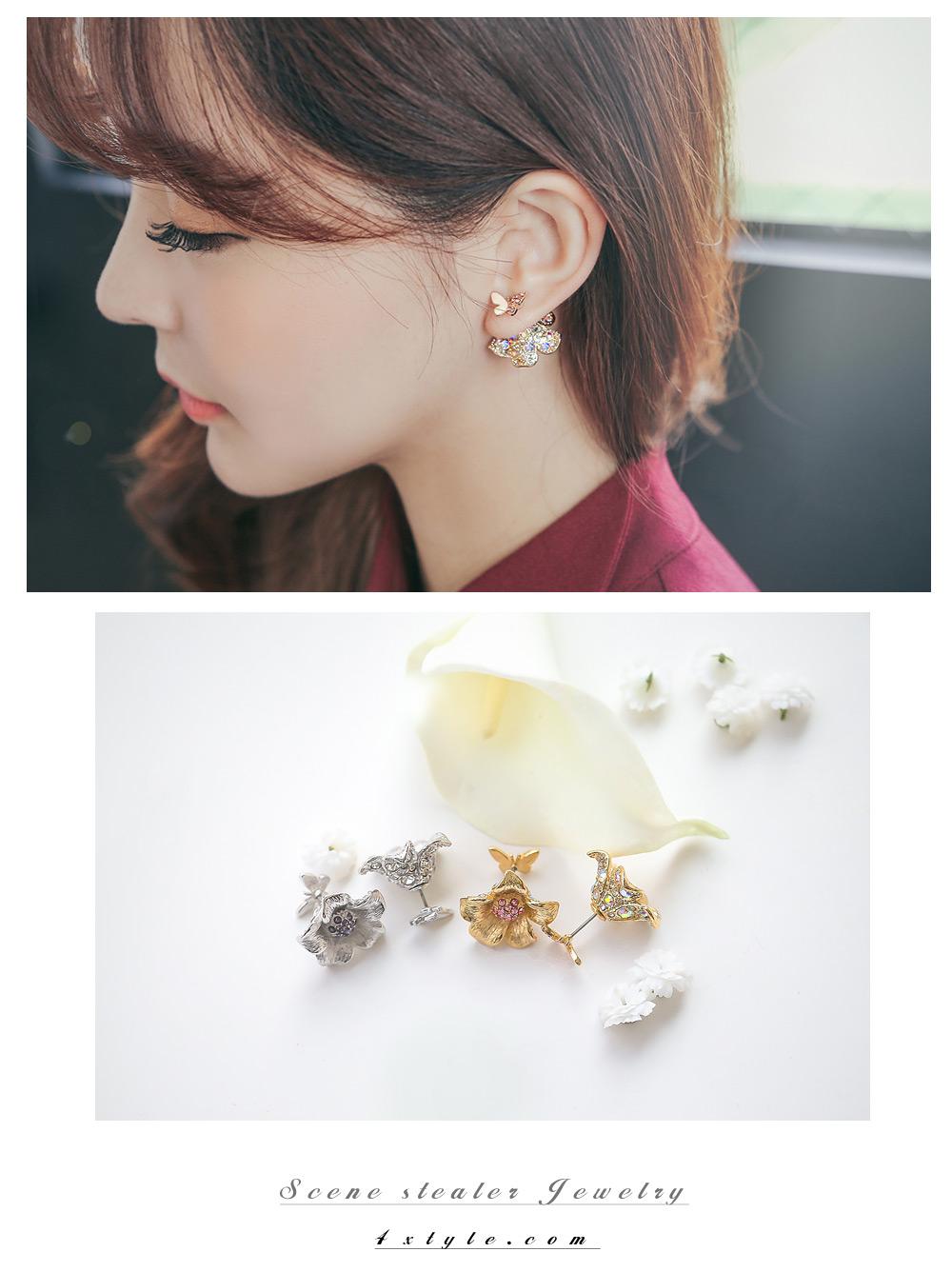 [ 4xtyle ] Elysia耳环、3种颜色