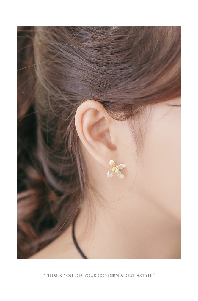 [ 4xtyle ] Watercolor Earring, 3 Colors
