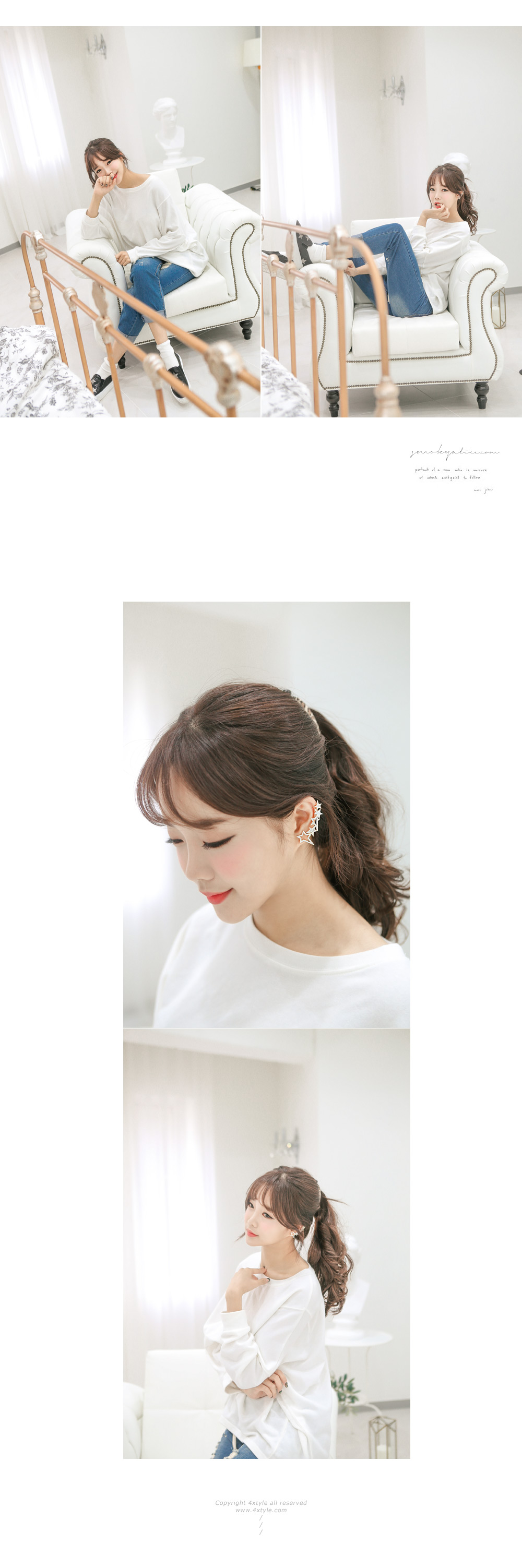 [ 4xtyle ] 耳Etwal袖带,2种颜色