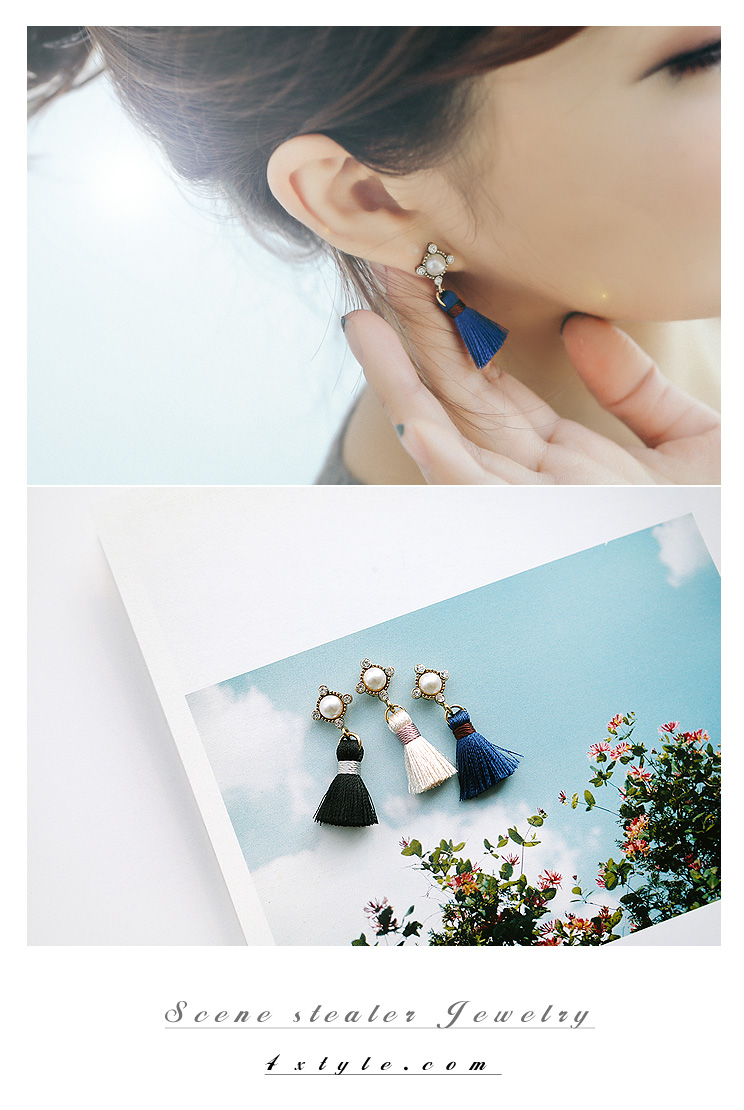 [ 4xtyle ] Sindy Cubic Earring, 5 Colors