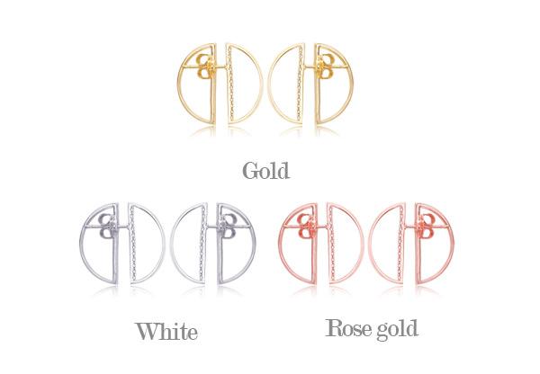 [ 4xtyle ] [银] D 双人行套链(WHITEGOLD)