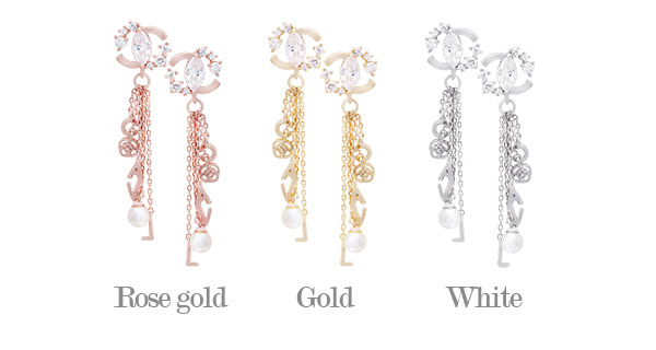 [ 4xtyle ] Flat Long Earring, 3 Colors