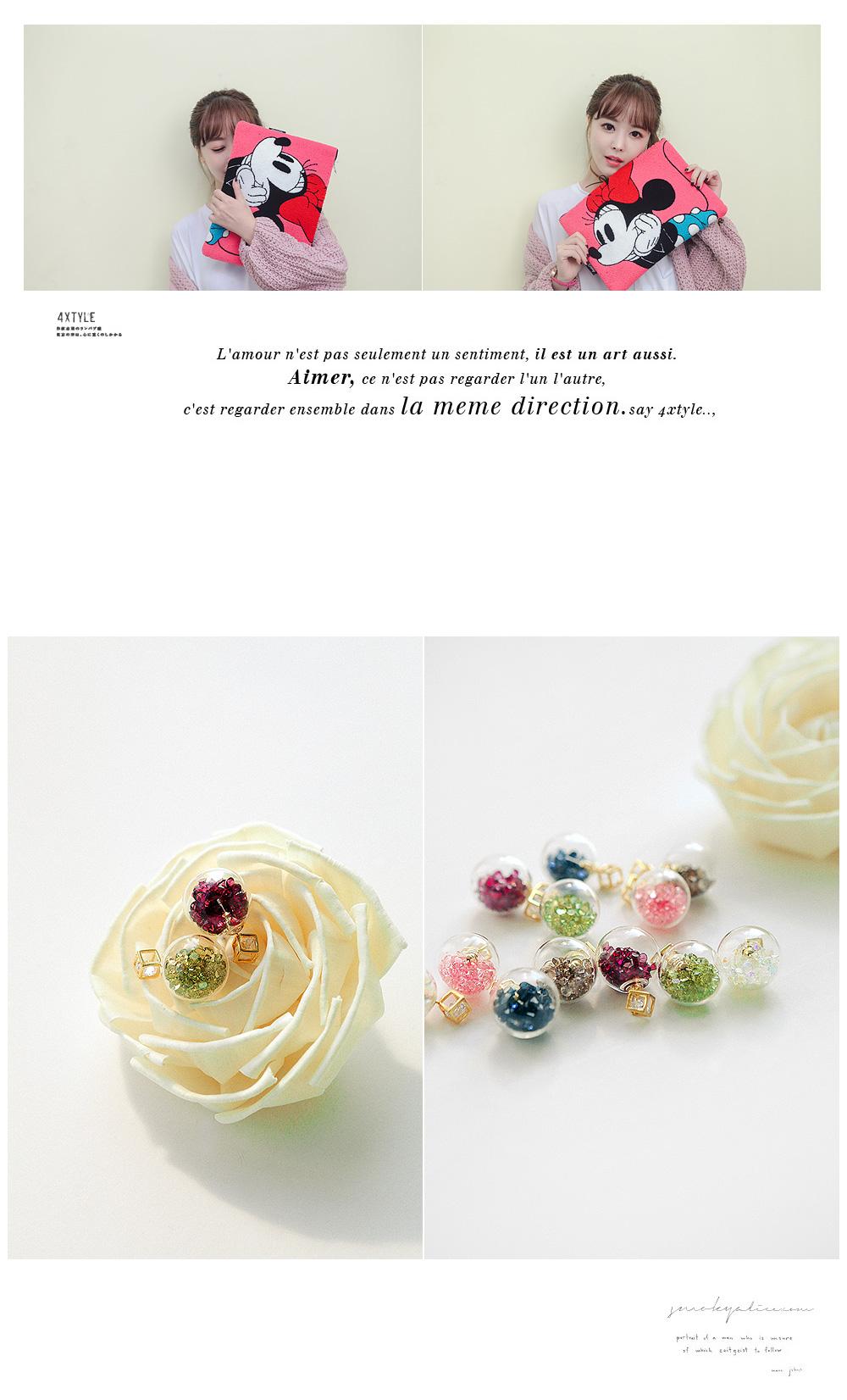 [ 4xtyle ] Frangde Earring, 6 Colors