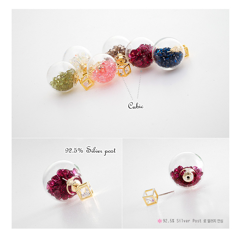 [ 4xtyle ] Frangde Earring, 6 Colors