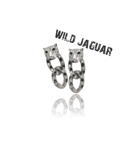 [ 4xtyle ] Wild Jacuar Earring, 3 Colors