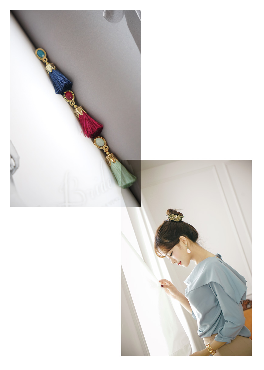 [ 4xtyle ] Micar Tassel Earring, 6 Colors