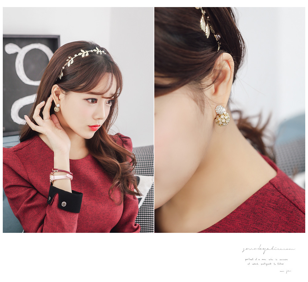 [ 4xtyle ] Sugarball Earring, 4 Colors