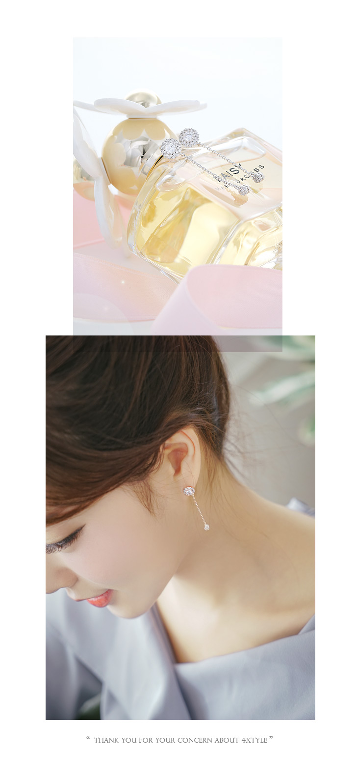 [ 4xtyle ] Diani Earring, 2 Colors