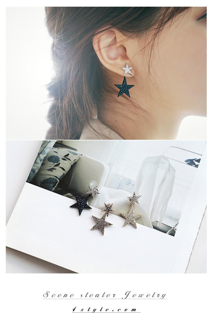 [ 4xtyle ] Milkyway Earring, 3 Colors