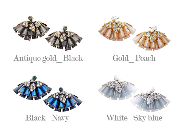 [ 4xtyle ] Borgias Earring, 4 Colors