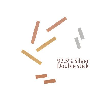 [ 4xtyle ] [银]双棒耳环 5(MM)