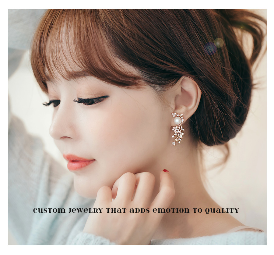 [ 4xtyle ] Mariang Leaf Earring, 3 Colors