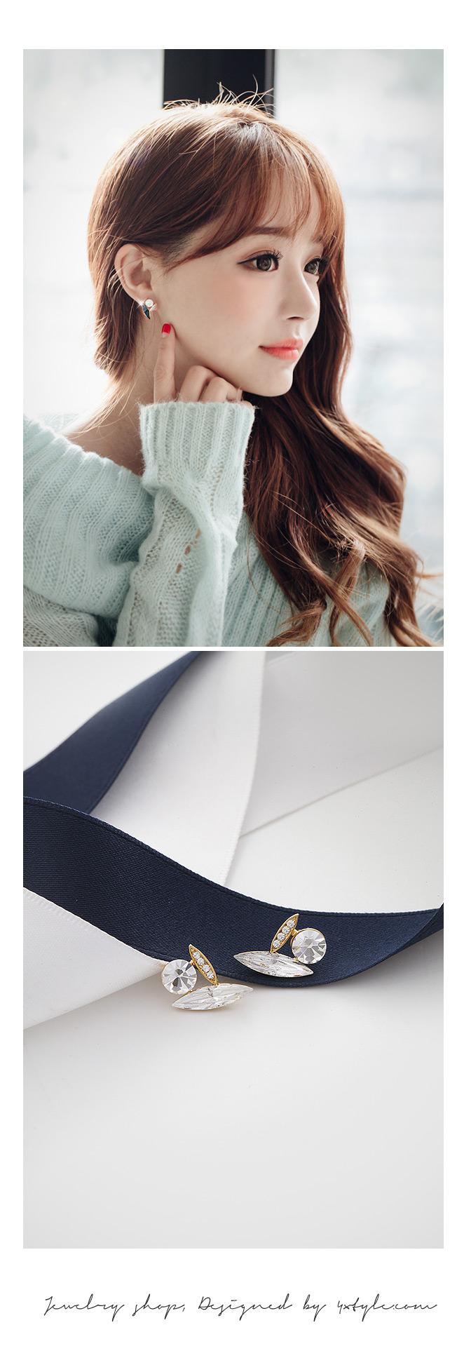 [ 4xtyle ] Haze Earring, 2 Colors