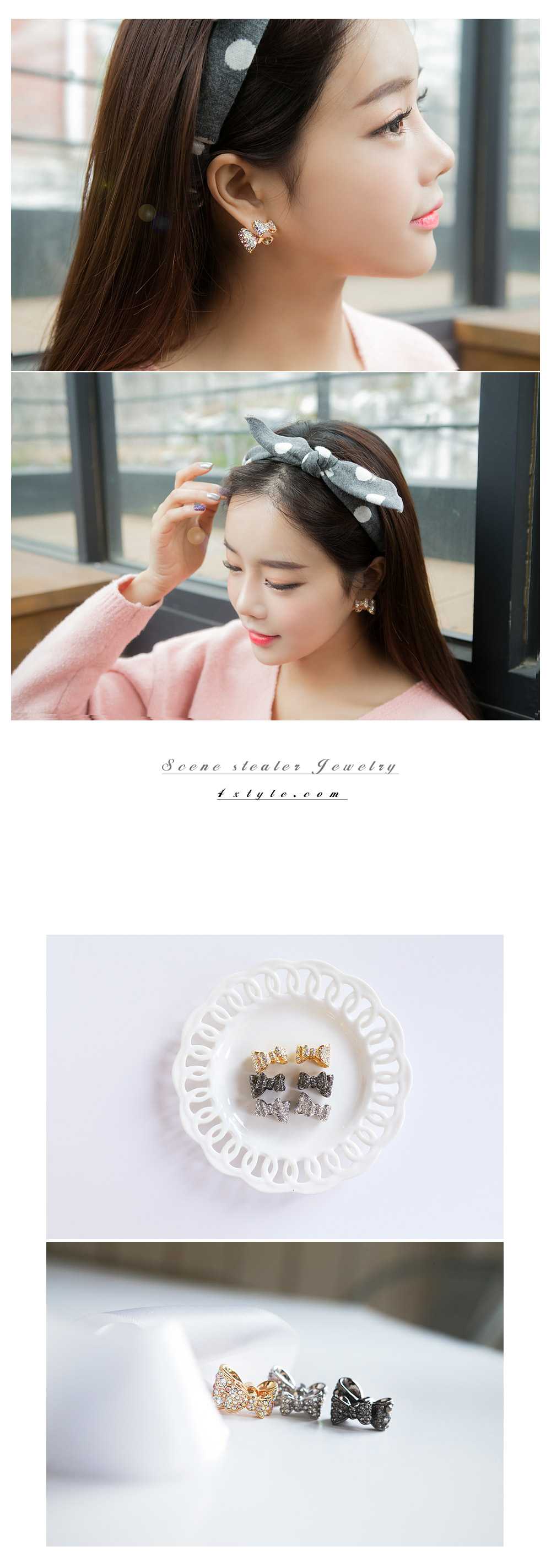 [ 4xtyle ] Preview Earring, 3 Colors