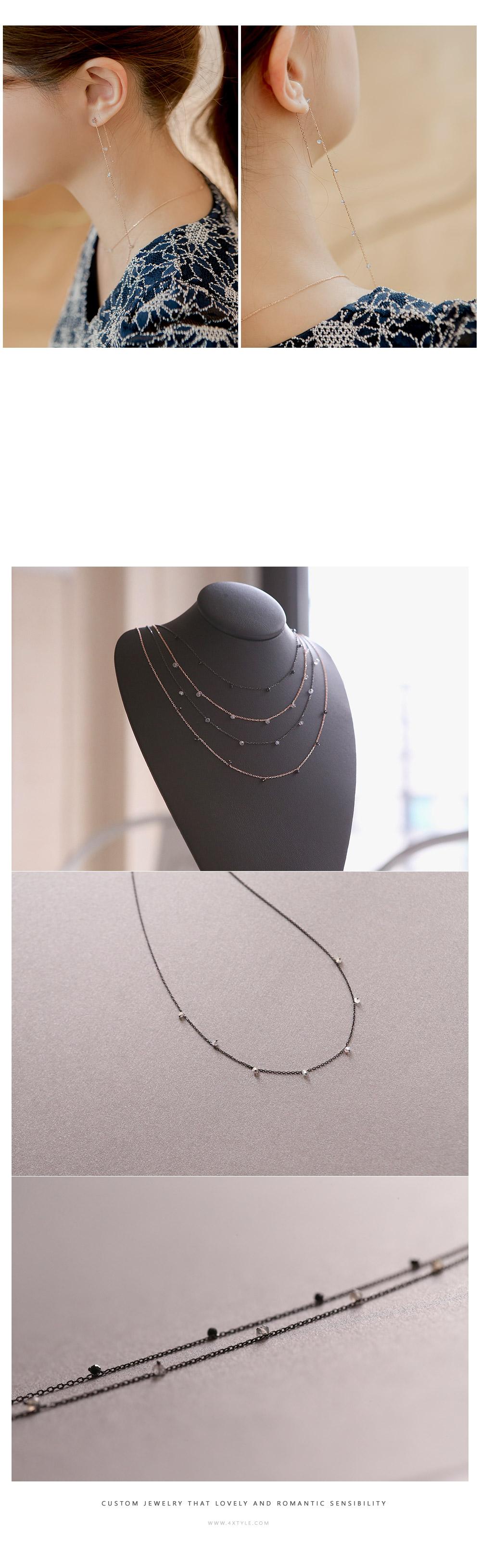 [ 4xtyle ] [手工制作][银]山核桃手链