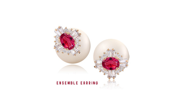 [ 4xtyle ] ENSEMBLE 2-WAY EARRING